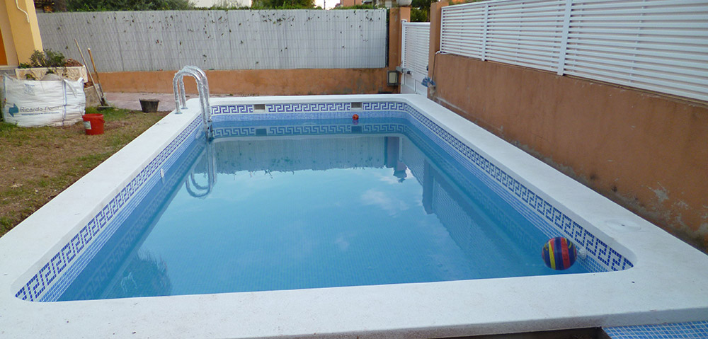 Presupuesto piscina de obra awesome el mueble with for Valor de construccion de piscinas