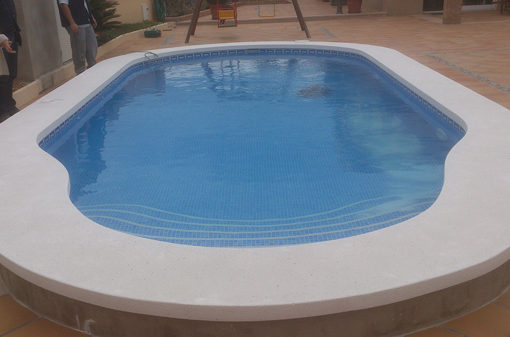 Construcción piscinas de obra en castellón