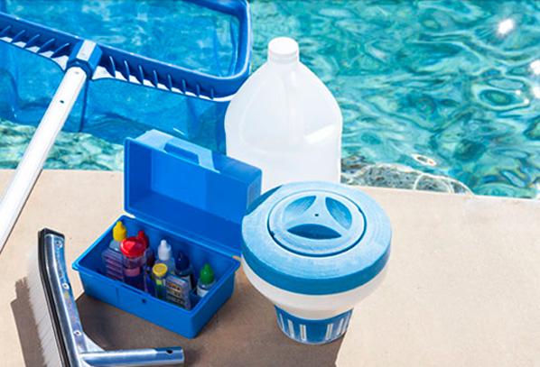 Tienda de productos para mantenimiento de piscinas en Castellón