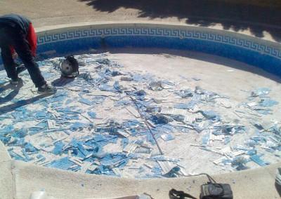 Reparacion y sustitucion de gresite de piscinas en castellón